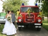 Tűzoltó esküvő