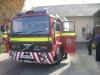 Megérkezett Angliából az új tűzoltóautónk