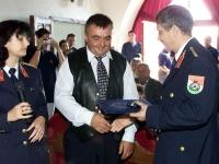 A 2002-es dunai árvíznél tanúsított helytállásért kapunk díjat