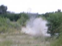 A robbanás