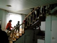 A laktanya belső helyiségeinek megtekintése